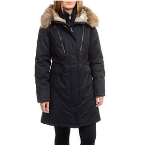 1 Madison Expedition Women's Faux Fur Hooded Parka
